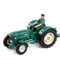 1:32 mann4r3 lkw farm traktor bulldozer legierung technik modell spielzeug autos mit figur kinder spielzeug