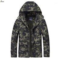 Мужские куртки Мкасс мода мужская повседневная открытый стиль на открытом воздухе 2021 туалет камуфляж мужская куртка с капюшоном пальто высокого качества Tops1