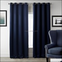 Treatments Textiles & Gardenmodern Blackout Living Room Window Curtains For Bedroom Curtain Fabrics Ready Made Finished Drapes Home Decor Dr