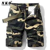 Chapenko Summer Cargo Shorts Men Armée Tactique Pantalons courts Loose Casual Camouflage Militaire