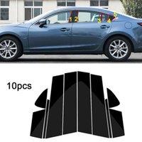 Окно 10 шт. Столбарные столбы Посты Отделка крышки Литье для Mazda 6 Atenza 2014-2018 Средний наклейка колонны BC для Mazda 6
