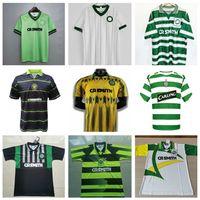 Retro Celtic 82 84 85 86 03 04 06 91 / 92retro camisas de futebol # 7 Larsson Nakamura Burley Keane Classic 99 00Vintage Camisa de futebol