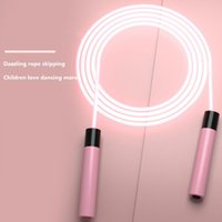 Jump Ropes LED Luminous Skipping Rope Fitness Exercise Jumping Men Women Universal For Kids Adults Sports Training Equipment Supplies