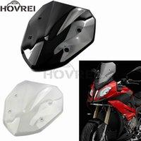 ل s1000xr 2014 2021 2021 الزجاج الأمامي الزجاج الدراجات النارية عالية الجودة ABS الرياح devlectors شاشة أسود واضح
