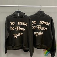 3d Foam Printing Kanye West Cpfm Ye Must Be Born Again Pullover Men Women 1:1 High Quality Sweatshirts Kids See Ghosts Hoodie