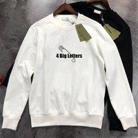 Mens Designer Segurança Pino Hoodies Homens Streetwear Letra Hoodie Homem S Womens Luxurys Skates Hoody High Street Pullover Sueter Vestuário Jumpers