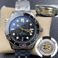 Ceramic Bezel Top Quality 50th Limited Mens LuxuryWatch World Time Men Automatic MasterWatches Mechanical Movement Mens Skyfall Sea Blue Watch Wristwatches