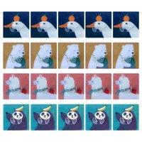 Hooks & Rails 20Pcs Socket Storage Hook Self-Adhesive Cartoon Sticky (Random Color)
