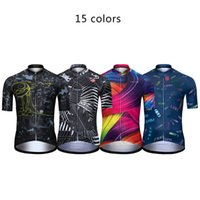 Racing Jackets 15 Colors LUBI Men's Cycling Jersey Bike Shirts Short Sleeve MTB Bicycle Clothes Summer Motocross Clothing Wear Downhill