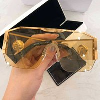 Designer Ray Sunglasses MOD 2220 Sunglasess Shades Women Rimless VE Men 2021 Sunglases Retro Gold Sun Glasses Steampunk Goggles