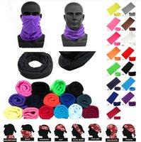 Cycling Unisex Magic Head Face Protective Mask Neck Gaiter Biker's Tube Bandana Scarf Wristband Beanie Cap Outdoor Sports