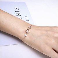Los anillos de compromiso de los pendientes del diseñador, las pulseras y los collares de oro son los favoritos de las mujeres enlazan, cadena Japón Corea del Sur Chaoren Jewelry Titanium Acero Piscis Pisc