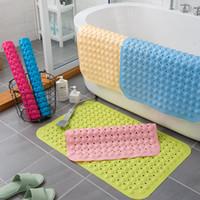 욕실 안티 슬립 매트 샤워 룸 목욕 안티 가을 방수 매트 가정용 화장실 욕실 바닥 매트 25 * 70cm XD24563