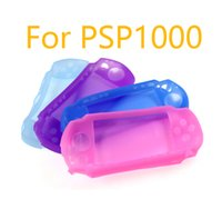 Silicone Soft Protective Cover Shell for Sony PlayStation Portable PSP 1000 1004 1008 Console PSP1000 Body Protector Skin Case