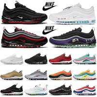 2020 Worldwide Running Shoes Masculino Trainers Sean Wotherspoon MSCHF x INRI Jesus UNDEFEATED Triplo Preto Branco Sapatilhas Esportivas Sapatilhas 36-45