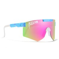 Factory Outlet Kdeam 2021 Top Polarized Men One piece Big Size Women Sunglasses Sport 19 Different Colors With Original Case YEIO