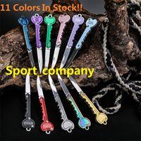 11 Farben Schlüsselform Mini Klappmesser Outdoor Sabre Pocket Obstmesser Multifunktionale Schlüsselanhänger Messer Schweizer Selbstverteidigungsmesser EDC-Werkzeug