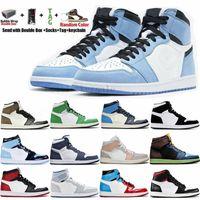 Air Retro Jordan Jordans AJ1 Jordon 1 Taglia us 13 Jumpman Travis Scotts 1s Uomo Scarpe da pallacanestro Donna Sneakers sportive atletiche Scarpe da ginnastica da uomo chaussures