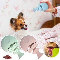 Sale Durable Chew Toys Fish Bone Toy Aggressive Chewers Toothbrush gy Puppy Dental Care For Dog Pet Supplies