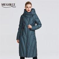 Miegofce Yeni Koleksiyon Kadın Ceket Bir Dayanıklı Rüzgar Geçirmez Yaka Kadınlar Parkta Çok Şık Kadın Kış Ceket T200808