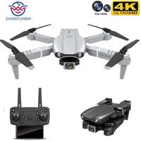 Sharefunbay новый HJ97 PRO Drone 4K HD Dual Camera Visual Positioning 1080P WiFi FPV Drone Presuction RC Quadcopter