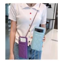 Luxury Handbag Mini Caviar Silver Chain Phone Bag Gold Logo Card Wallet Purse Women Crossbody Cellphone Pouch for iPhone for samsung