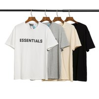 Big Size Essentials Moda 2021 Medo Camiseta deus nevoeiro T-shirt T-shirt Moda Tee Skate de rua respirável mangas curtas casuais