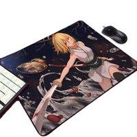 Mauspads Handgelenkstützen Mousepad Koha-Ace Ex okita Souji Anime Mädchen Muster Mini PC Gaming Pad Fate / Stay Night Grand Order Game Player Registerkarte