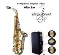Совершенно новый Yanagisawa A-WO37 Alto Saxophone посеребренный золотой ключ профессиональный сакс с мундштуком и аксессуарами Бесплатная доставка