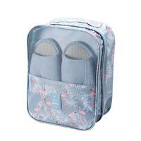 Toiletry Kits Portable Travel Shoe Bag Hold 3Pair Of Shoes Underwear Clothes Bags Organizer Multifunction Accessories Storage