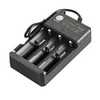 Multifunción 18650 Cargador USB 3 ranura Potencia de batería de iones de litio para baterías de litio recargable al por mayor al por mayor