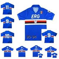 Alta Qualidade 1990 1992 Sampdoria Clube de Futebol 90 91 Universidade da Califórnia em Sampdoria Classic Mancini VillaricEezzo Attirio Lombardo F