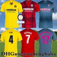 Villarreal cf Pau Gerard Soccer Jersey 2021 22 Paco Alcacer Chukwueze Camiseta Dia A. Uppraza Yeremi Foyth M.Trigueros Parejo Estupinan Camicie da calcio Kit