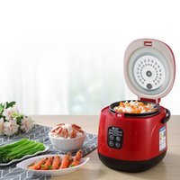 مصغرة طنجرة الأرز الكهربائية ذكي طباخ المطبخ المنزلية التلقائي 1-2 الناس المنزلية المنزلية الصغيرة الذكية طاولات الأرز