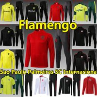 21/22 Flamengo Pullover Trainingsanzüge Sets Fussball Jerseys 2021 2022 Palmeiras Diego SC Internacional Sao Paulo Dani Alves Jogging Football Surveetement Training Anzug