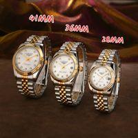 U1 2813 мужские автоматические золотые часы платье полная нержавеющая сталь сапфир водонепроницаемый светящиеся пары стиль классические наручные часы монр де Люкс