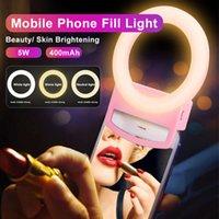Universal LED Selfie Ring Fill Light Dimmable Mobile Led Lamp Photography For Makeup Video Live Aro De Luz Para Celular