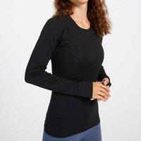 Kadın Giyim Tops Tees T-shirt Sonbahar Yoga Giysileri Swiftly Tech En Spor Bayan Uzun Kollu Koşu Hızlı Kuruyan Fitness Yüksek Elastik