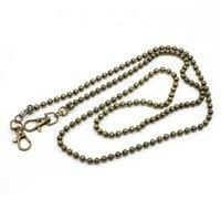 Bag Parts & Accessories Metal Replacement Purse Beads Chain Strap Handle Shoulder Crossbody Handbag
