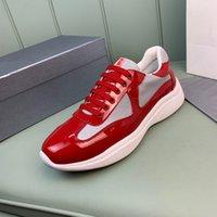 2021 Top Qualität Hohe Qualität Schuhe Ass bestickte weiße Schuhe Echtes Leder Mode Sneaker Herren Frauen Freizeitschuhe Größe 38-44