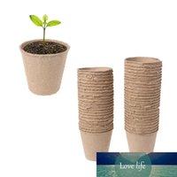 """50pcs 2.4 \ """"Paper Pot Plant Entrées Planling Herb Graine Coupe de la crèche Kit biodégradable biodégradable Home Culture"""