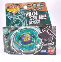 Ready Stock Original Takara Tomy Beyblade BB-71 Ray Unicorno D125CS 어린이의 날 장난감으로 런처 한국 버전