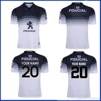 2019 Stade Toulousin Away Jersey 2020 Toulouse Rugby Training Shorts Jersey Tamanho S-M-L-XL-XXL-3XL-4XL-5XL