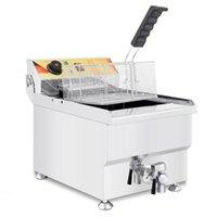 Food Processing High Quality Commercial 220v 110v 11L Electric Deep Fryer Machine