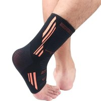 Ankle Brace Compression Foot Support Sleeve Elastic Breathab...