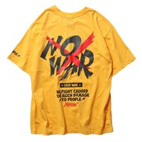 Aprile Momo 2020 Estate da uomo Tee shirt manica corta O-Collo Casual Fashion T Shirt Street Cotton High Street Tees Streetwear X1214