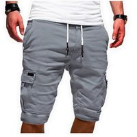 Men's Shorts 2021 Summer Stylish Sports Work Casual Army Combat Cargo Short Trousers Fashion Gym Sport Running Workout