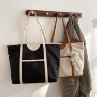 جديد 2021 أزياء المرأة حقائب كبيرة سعة كبيرة أكسفورد عارضة حقيبة يد السيدات الكتف حقائب السفر التسوق حمل رسول حقيبة