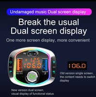 BC63 Car Charger Cigarette Lighter Bluetooth MP3 Player USB Car Charger with FM Transmitter Bluetooth Hands-free FM Modulator