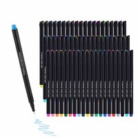 24   60 kinds of color pen fine line water-based brush painting set needle